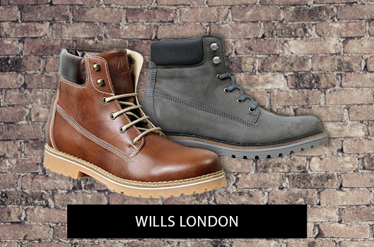 VEGAN BOOTS by WILLS LONDON