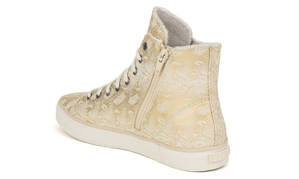 vegan sneaker esprit sophy lu bootie gold avesu vegan. Black Bedroom Furniture Sets. Home Design Ideas