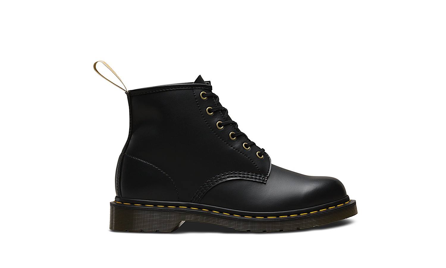 Felix 101 Vegan Black Off 6 Eye BootDrMartens Rub ukZPiOXT