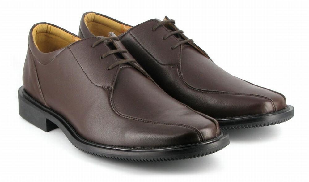 VEGETARIAN SHOES Kent Klark Shoe Brown