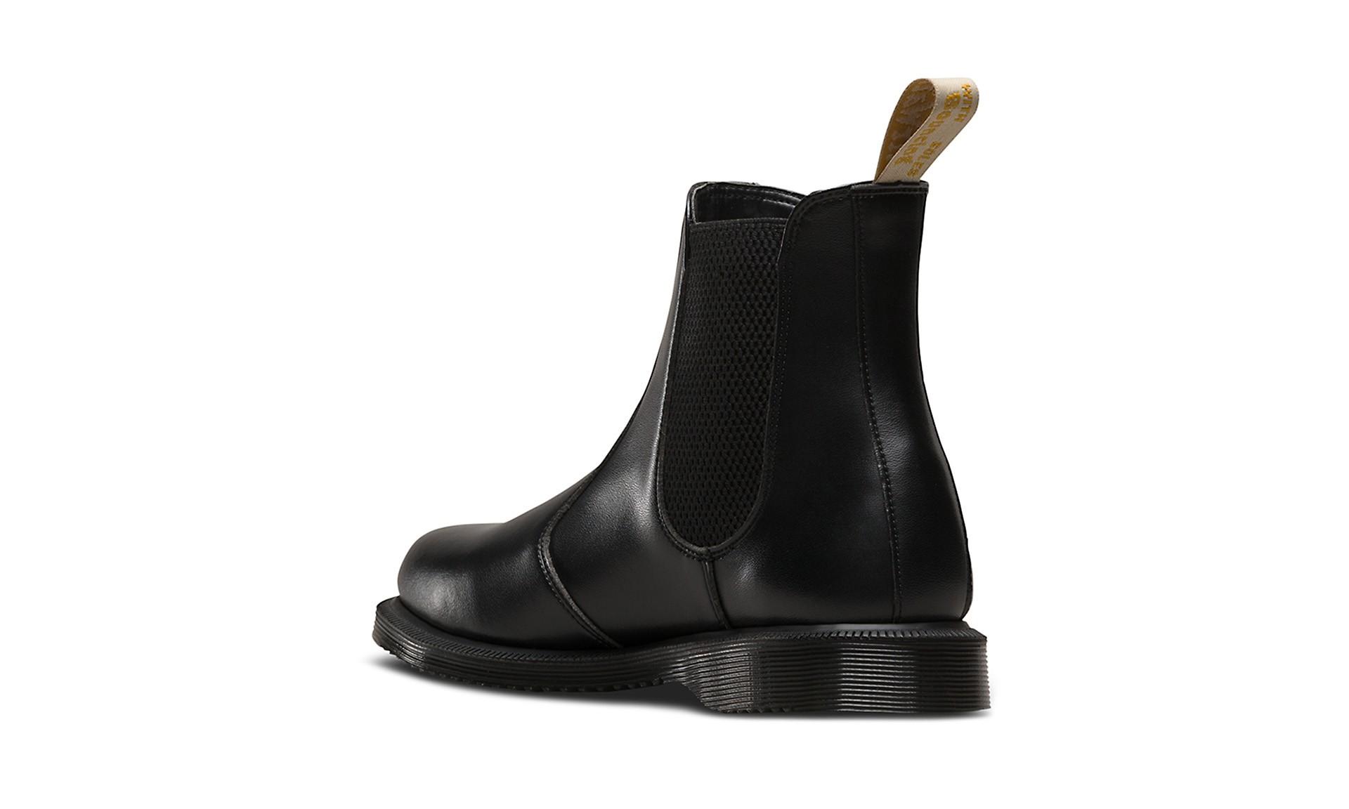 dr martens vegan flora chelsea boots