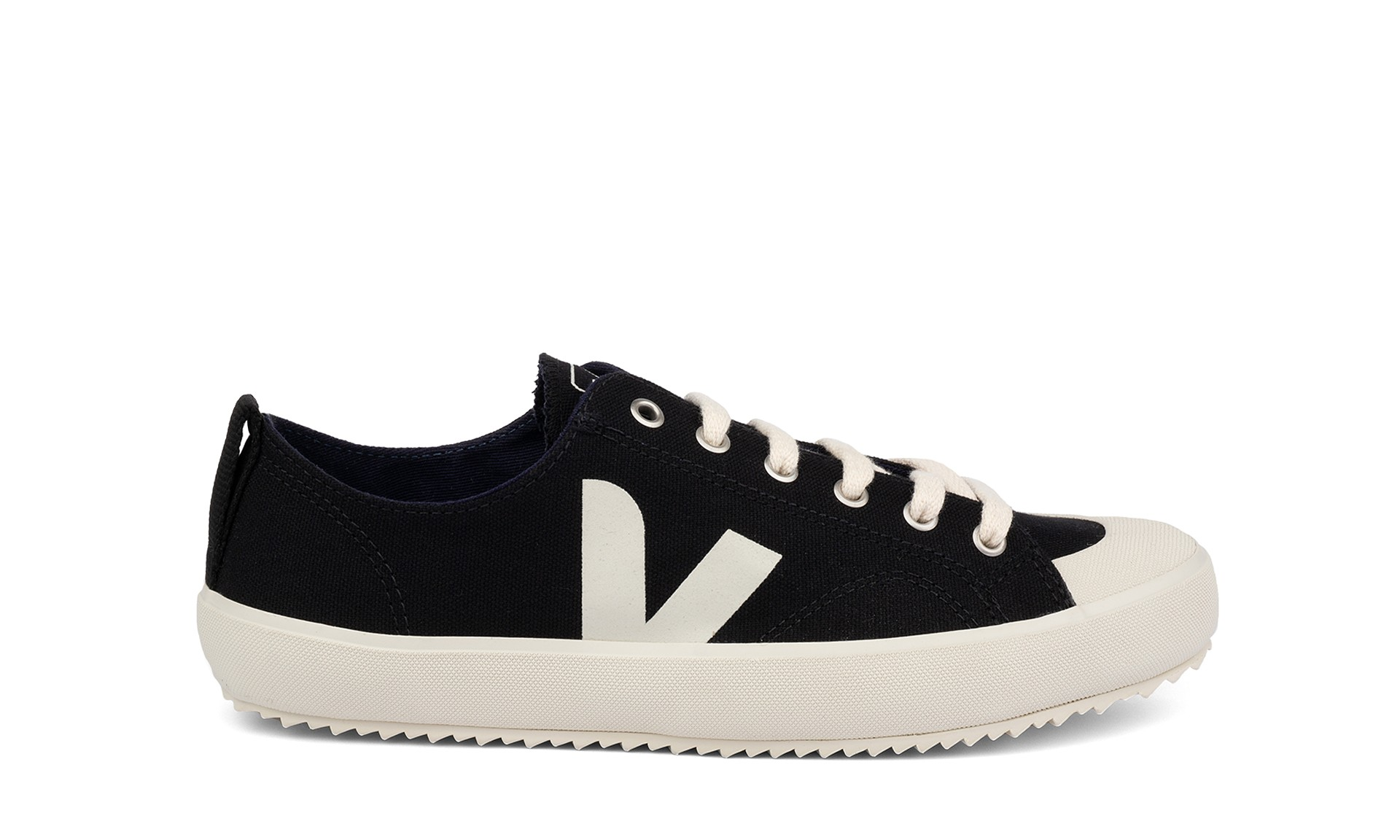 Noveno cisne exótico  Vegan Sneaker | VEJA Nova Canvas Black Pierre | avesu VEGAN SHOES