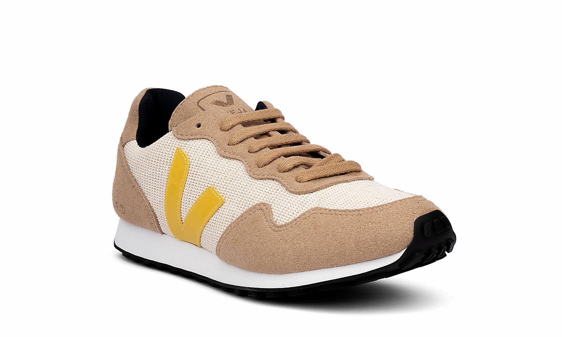 Sneaker Damen SDU Rec Juta Natural Gold Yellow