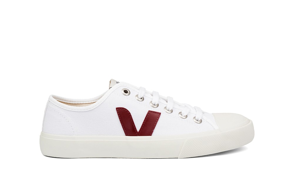 Vegan Sneaker   VEJA Wata Canvas White