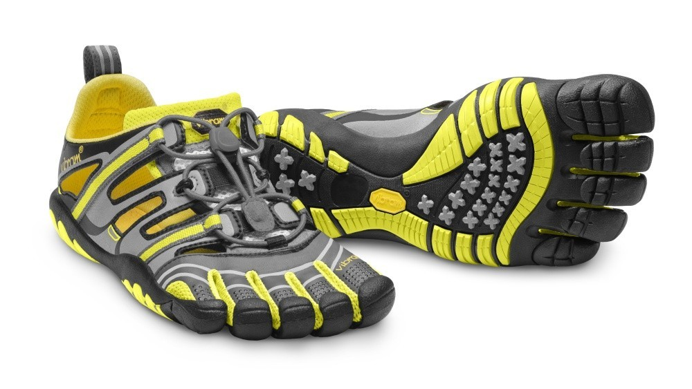 cf7a62652a Vegan Vibram FiveFingers - Treksport Sandal 2013 Grey Yellow Black ...