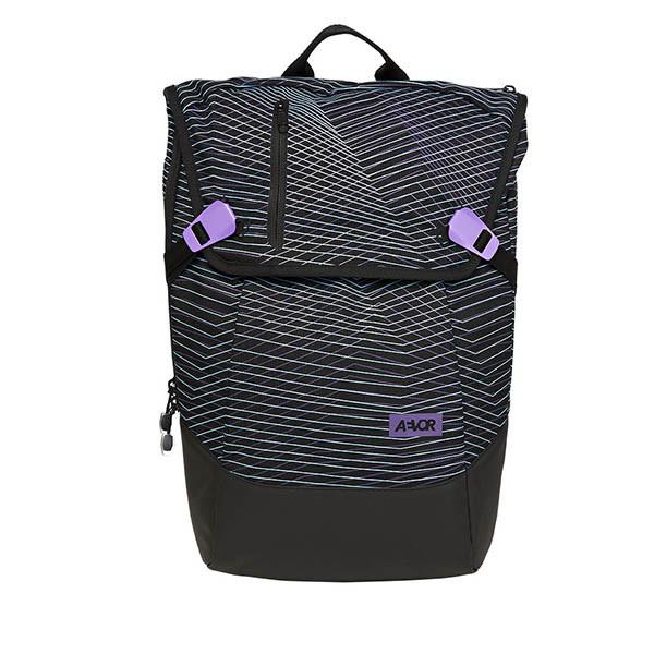 Veganer Rucksack | AEVOR Daypack Fineline Twin Purple