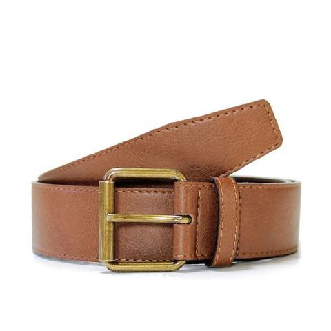 Veganer Gürtel | WILL'S VEGAN STORE 4cm Jeans Belt Chestnut