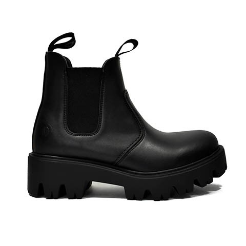 Veganer Chelsea Boot | ALTERCORE Soul Black