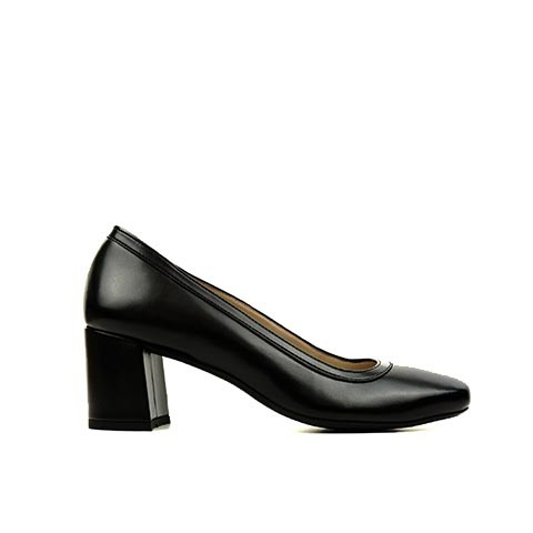 Vegane Pumps | WILL'S VEGAN STORE Block Heels Black