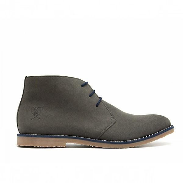 Veganer Desert Boot | NAE Lagos Grey