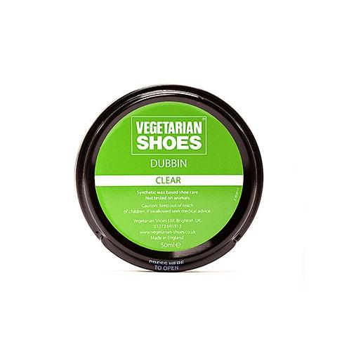 Vegane Schuhcreme   VEGETARIAN SHOES Clear Dubbin