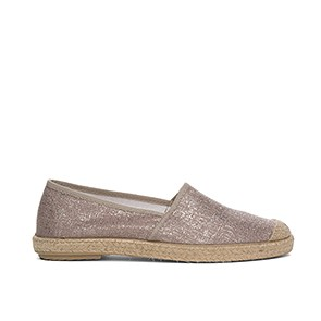 Veganer Slipper | GRAND STEP SHOES Evita Metallic Plain Rose