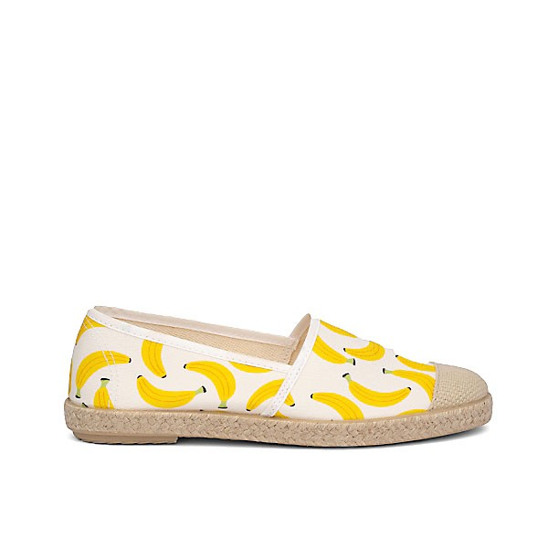 Vegane Espadrilles | GRAND STEP SHOES Evita Plain Banana