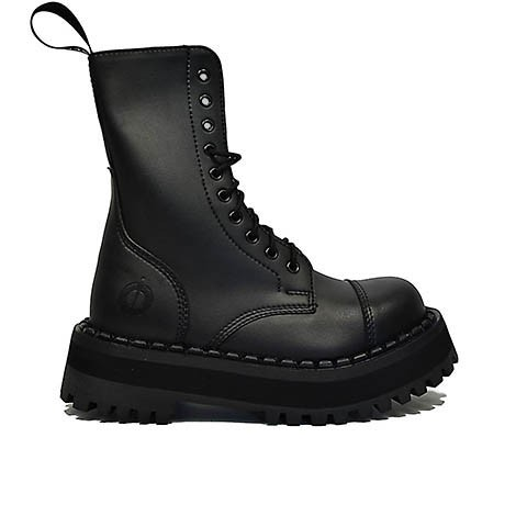 Veganer Schnürstiefel | ALTERCORE 353 Black