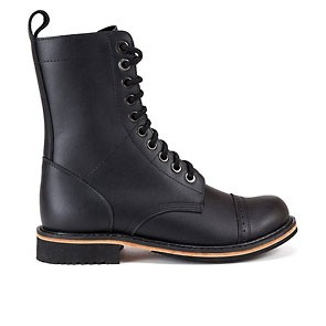 Veganer Schnürstiefel | ALTERCORE Ohio Black