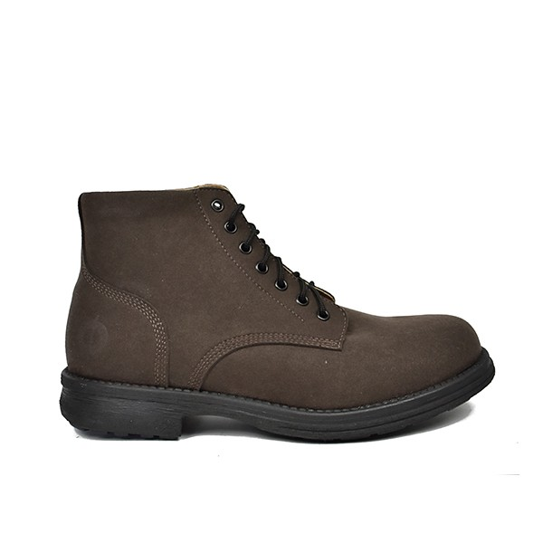 Veganer Schnürstiefel | ALTERCORE Sanu Brown