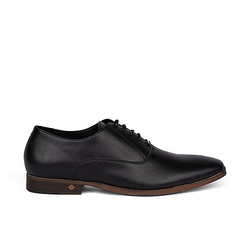 Veganer Schnürschuh | FAIR Timeless Shoe Black