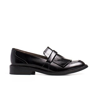 Veganer Loafer | NAE Brina Black