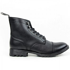 cc1d2a7696 Work Boot Black. Wills Vegan Shoes