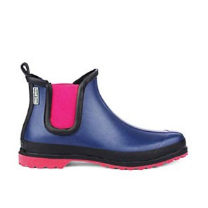 Veganer Gummistiefel | GRAND STEP SHOES Victoria Multi Blau/Rot