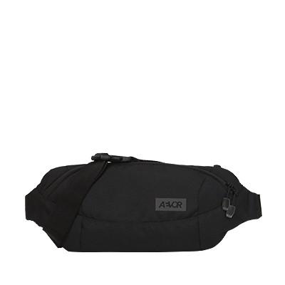 Vegane Schultertasche | AEVOR Shoulder Bag Black Eclipse