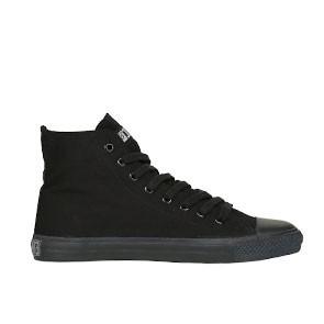 Veganer Sneaker | ETHLETIC Fair Trainer Black Cap Hi Cut Jet Black