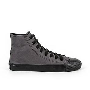 Veganer Sneaker | ETHLETIC Fair Trainer Black Cap Hi Cut Pewter Grey