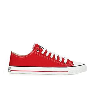 Veganer Sneaker - Ethletic Fair Trainer Lo Cut Cranberry Red