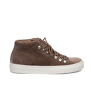 Veganer Sneaker | GRAND STEP SHOES Smilla Velvet Taupe
