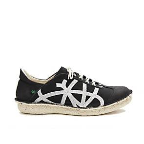 Veganer Sneaker   PO-ZU Brisk W Black White