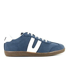 Veganer Sneaker | VEGETARIAN SHOES Cheatah Navy