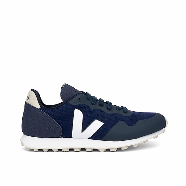 Veganer Sneaker | VEJA SDU RT B-Mesh Nautico White