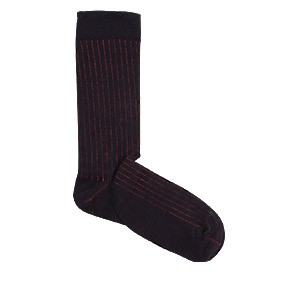 Vegane Socken | KABAK Classic Socks Black & Red