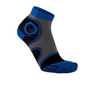 Vegane Socken | LOWA Eightsox Advanced Short Black/Dark Blue