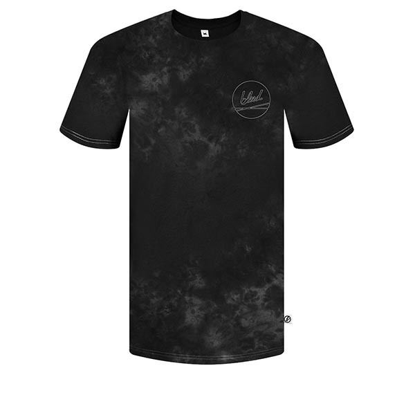 Veganes T-Shirt | BLEED T-Shirt Tie-Dye Black