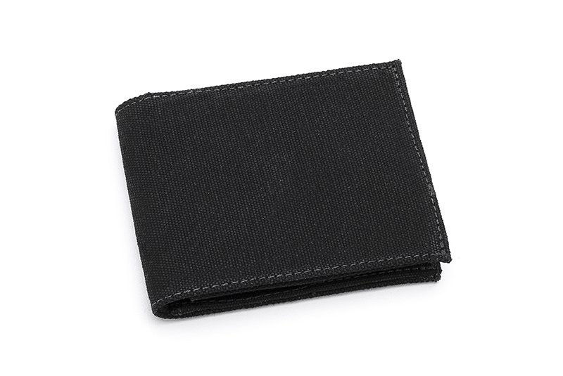 Vegane Geldbörse | AHIMSA Zipped Wallet Black