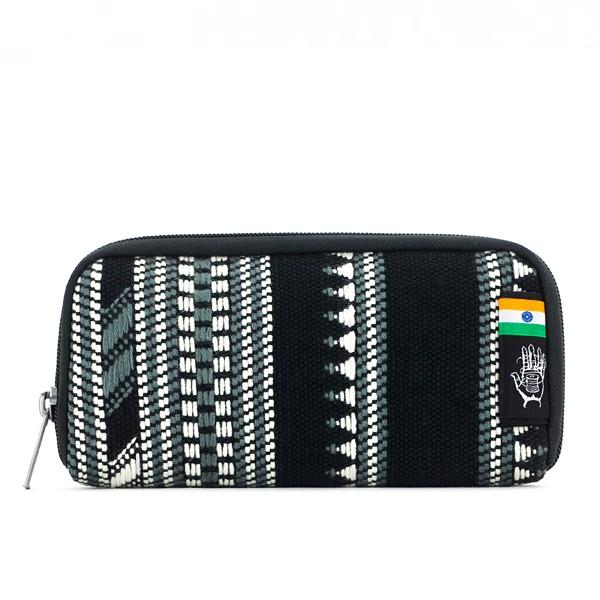 Vegane Brieftasche   ETHNOTEK Chiburi Accordion Wallet India 10