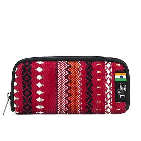 Vegane Brieftasche | ETHNOTEK Chiburi Accordion Wallet India 11
