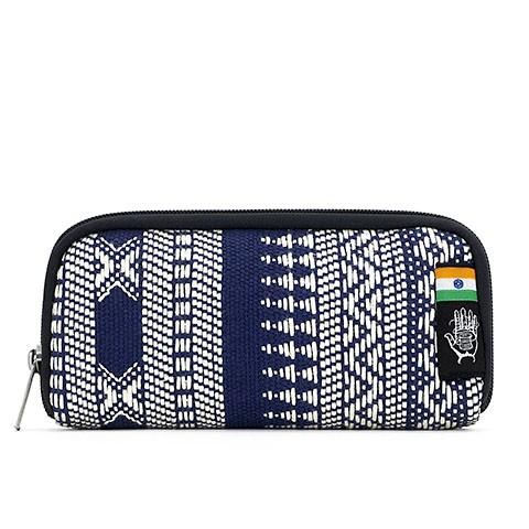 Vegane Brieftasche | ETHNOTEK Chiburi Accordion Wallet India 14