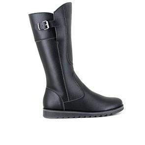 Veganer Damenstiefel   VEGETARIAN SHOES Action Boot 3 Black