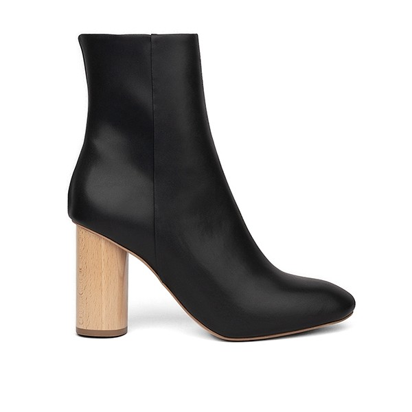 Vegane Damenstiefelette | SYDNEY BROWN High Ankle Boot Black