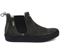 Vegan Sneaker | JONNYS VEGAN Talca Hemp Negro
