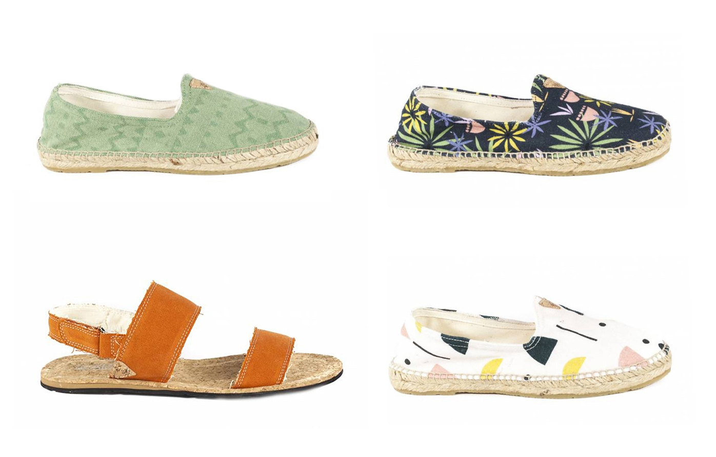NEW at AVESU | Vegan Espandrilles by SLOWERS | Shop now!