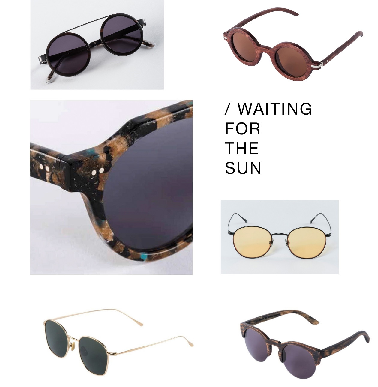 NEW at AVESU | Sunglasses by WAITING FOR THE SUN | Shop now!