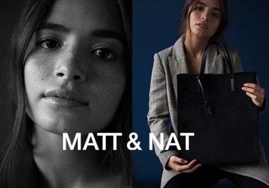 MATT & NAT    Vegane Taschen und Rucksäcke