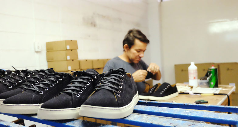 Vegan Shoe Making | A visit at AHIMSA